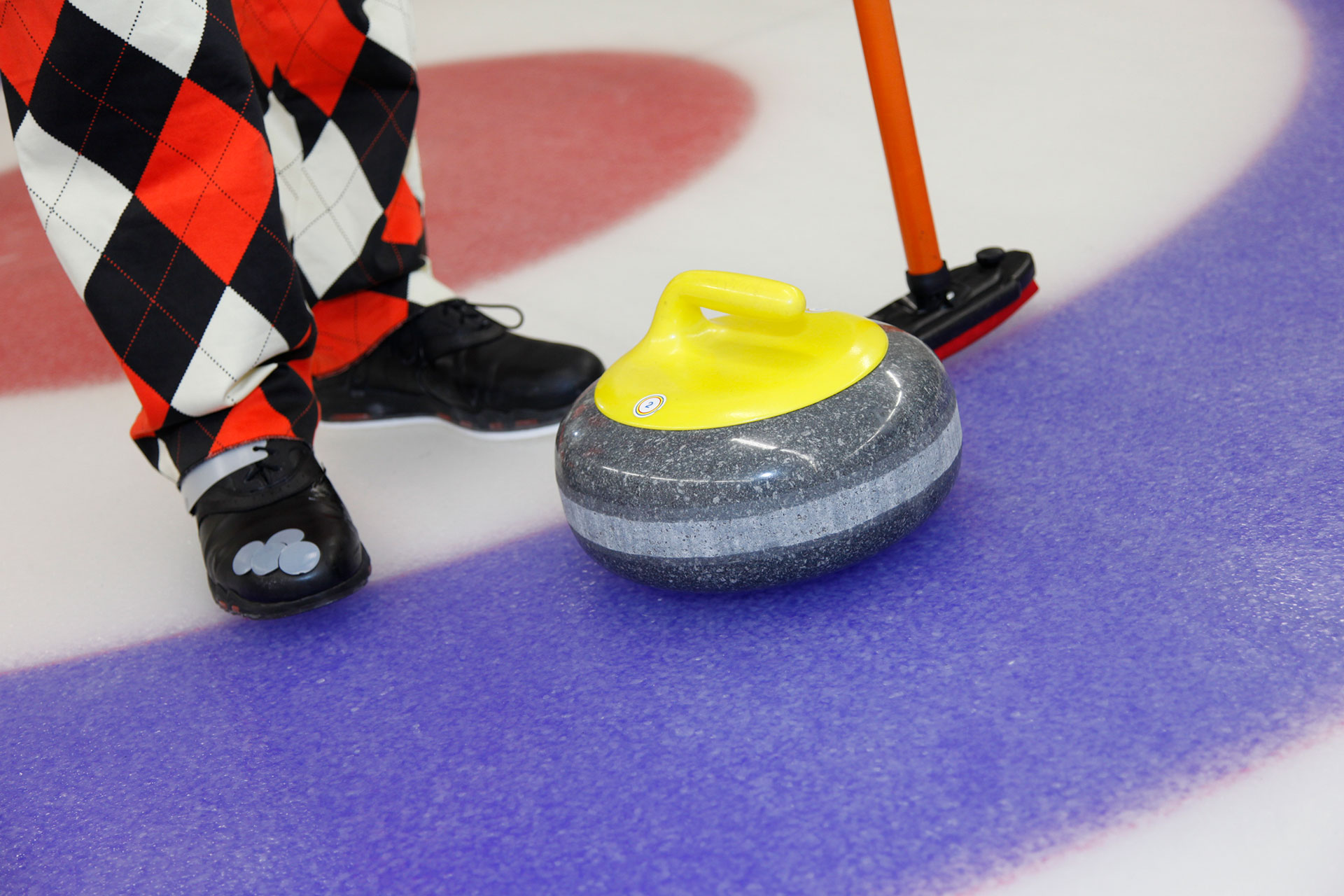 Curling curlingsteen Curlingbaan Zoetermeer