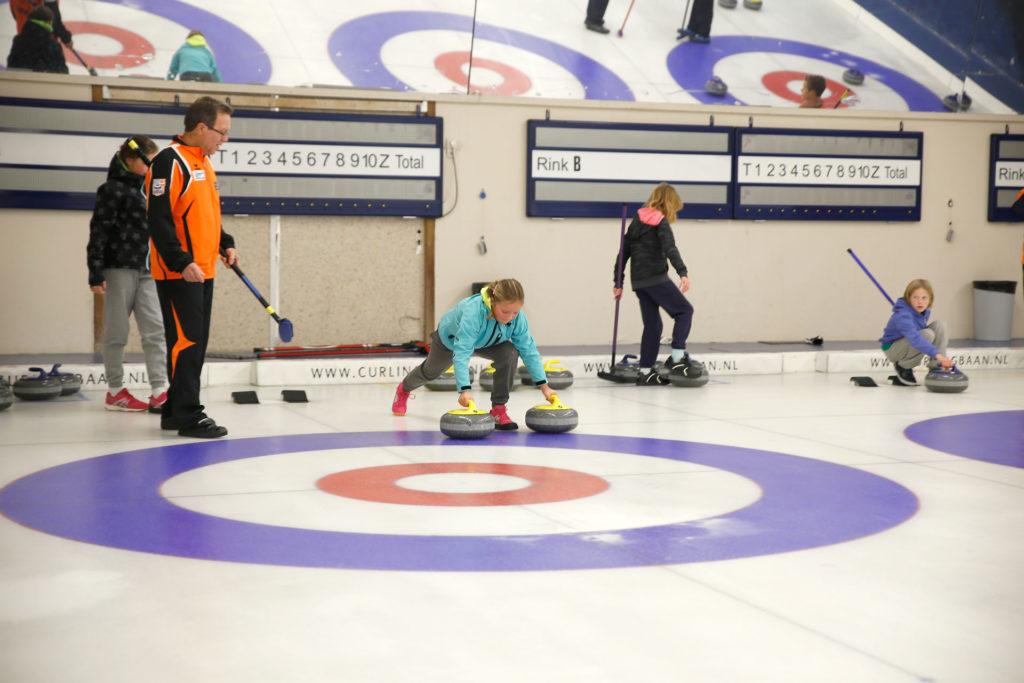 Kinderfeestjes bij Curlingbaan Zoetermeer