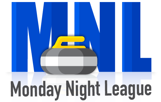 Logo Curling Monday Night League